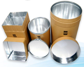 Aluminum-film laminated drum